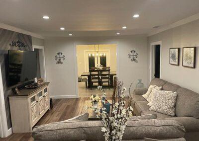 Ace Renovator Living Room Remodeling