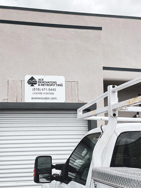 Ace Renovator Garage at Location